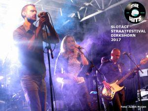 Coverband The Hits geeft een 'steamy' optreden - Dirkshorn 2017- min