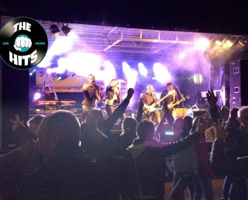 Coverband The Hits - slotact Straatfestival Dirkshorn 2017