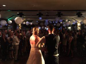 Toespraak bruidspaar tijdens huwelijksfeest -Coverband The Hits