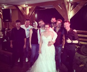 Super trouwfeest van Nikki & Joris met Coverband The Hits uit Noord-Holland