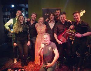 Geslaagde bruiloft in Heerhugowaard met Coverband The Hits 2019