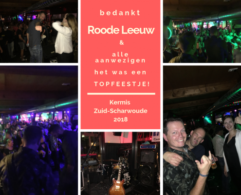 kermis zuid scharwoude te noord holland - Coverband The Hits