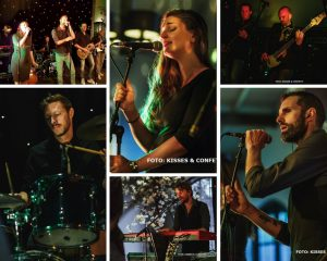 collage Coverband The Hits huwelijksfeest