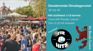 Kermis slotfeest | Coverband The Hits | Zuid-Scharwoude 2018