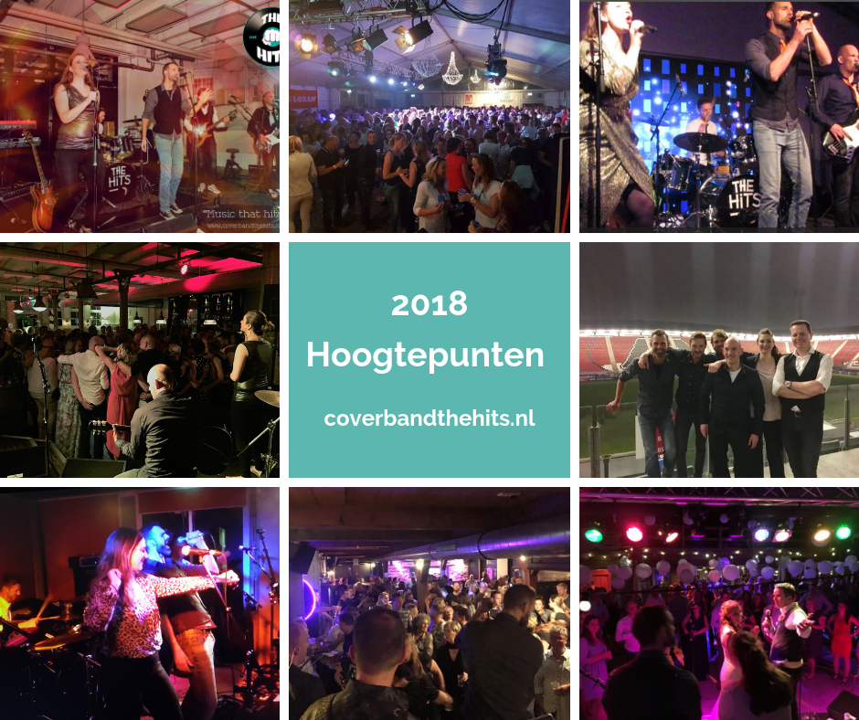 2018 Hoogtepunten Coverband The Hits uit Noord-Holland