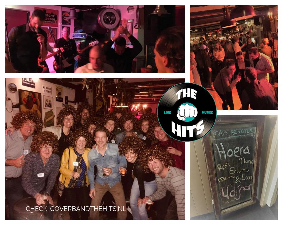 Wonderbaar Groepsverjaardag: allemaal 40 jaar, dus feest!   Oudkarspel NL-64