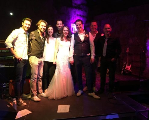 Weer een geslaagd trouwfeest met Coverband The Hits - in Amsterdam