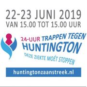 24 uur Trappen tegen Huntington met Coverband The Hits