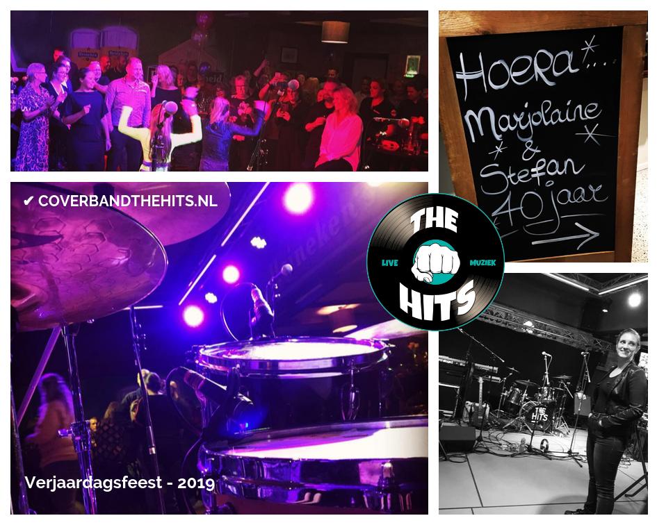 Coverband The Hits op leuk verjaardagsfeest Noord-Holland