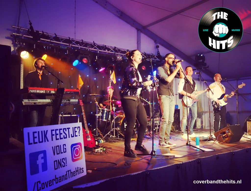 Coverband The Hits ook op jouw feest of festival?