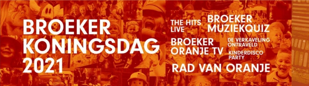 Livestream Coverband The Hits tijdens Broeker Koningsnacht 2021