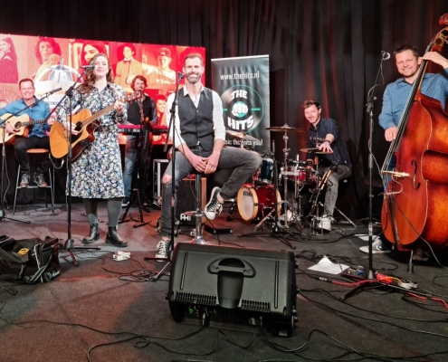 Unplugged optreden Coverband The Hits - Livestream Koningsnacht 2021